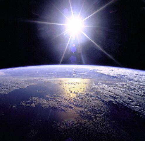 De la tierra al sol...